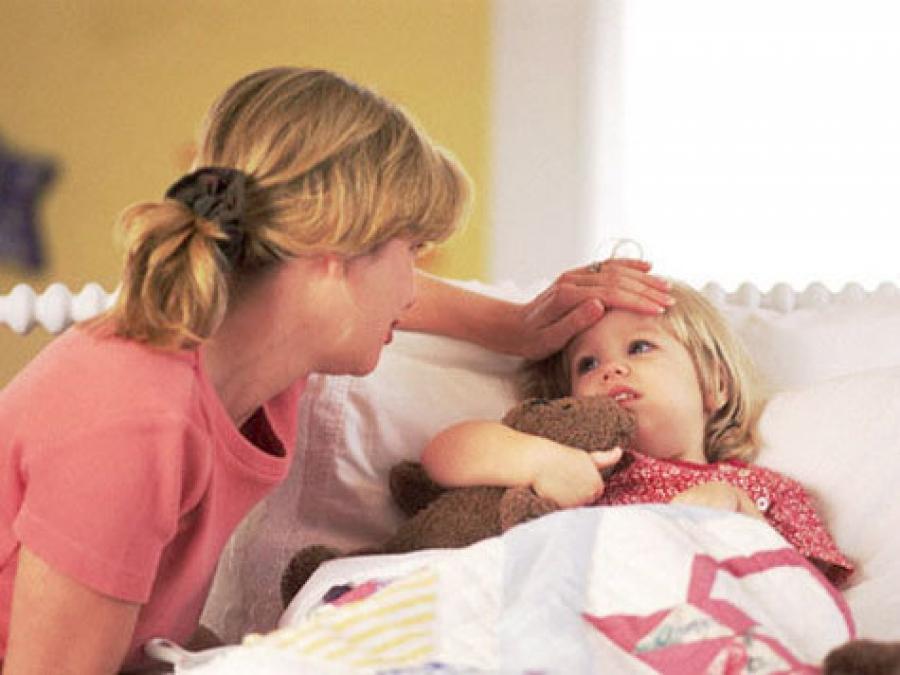 Лечим деток от простуды