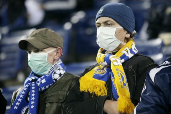 Украину ожидает эпидемия вируса гриппа трех штаммов