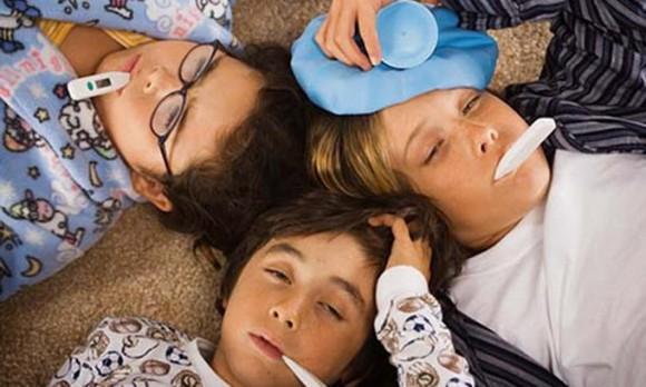 Всего за неделю четверо жителей Брянской области заболели гриппом