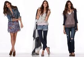Одежда для худых девушек и женщин