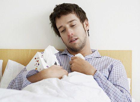 Мужчина и грипп: неравная борьба