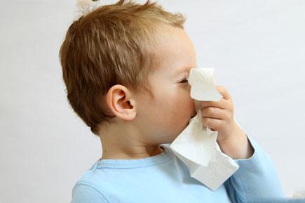 Лечение простуды у малыша