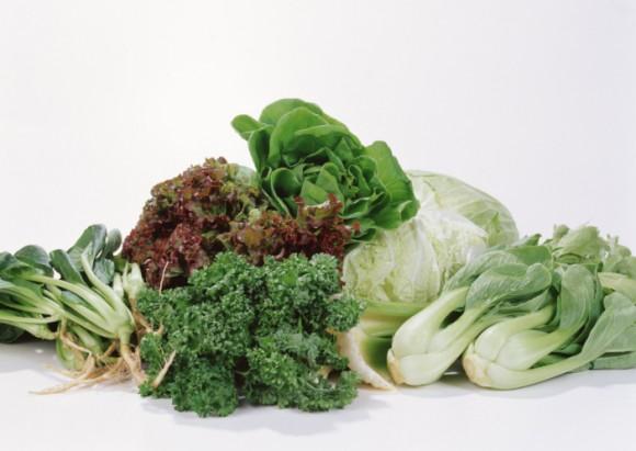 Топ-6 осенних листовых овощей