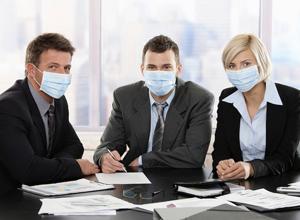 Грипп любит офисы: как защититься на работе?