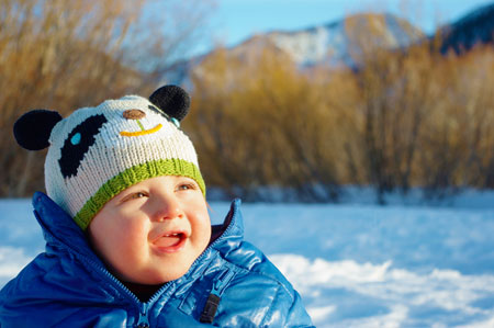 Как заставить ребенка тепло одеваться?