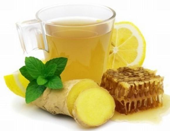 Повысить иммунитет помогут имбирный чай и яблоки