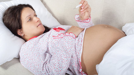Грипп в период беременности