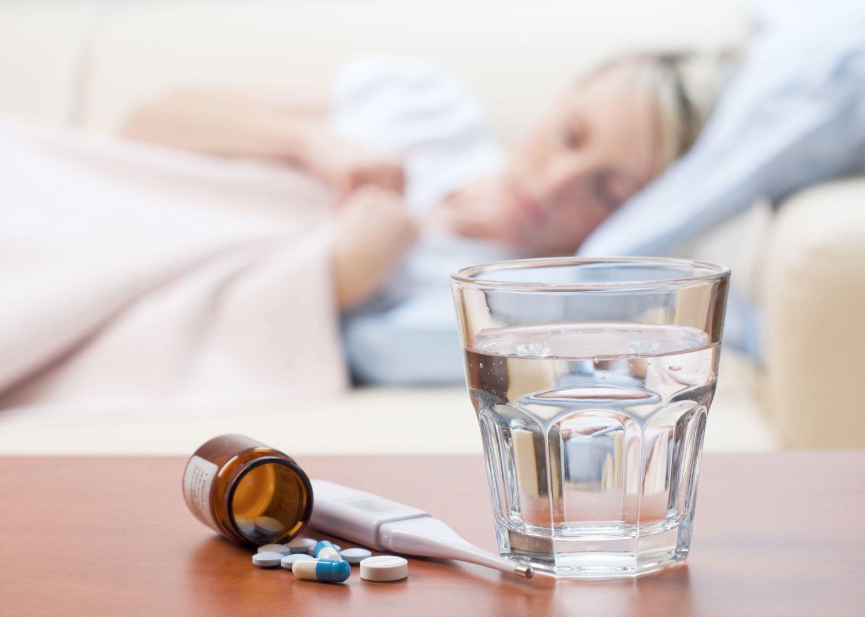 При низкой влажности можно быстрее заразиться гриппом