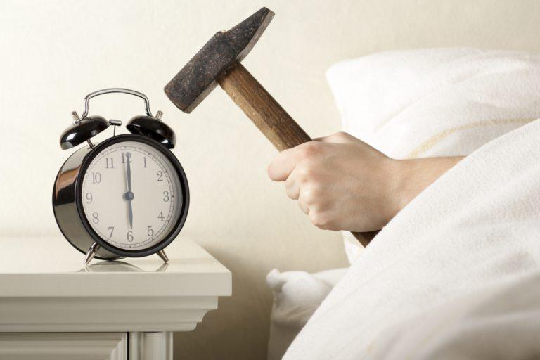 люди которые ставят будильник даже в выходные чувствуете