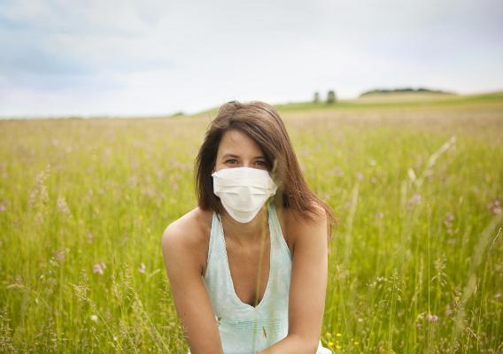 Сухая погода может спровоцировать вспышку гриппа