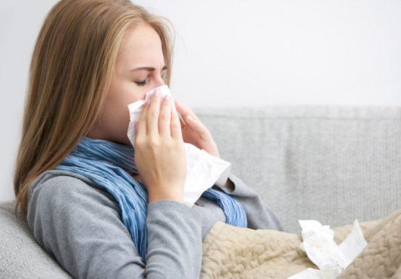 Размер отделов мозга влияет на тяжесть симптомов простуды