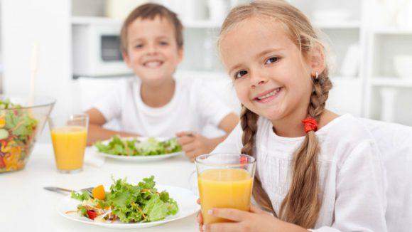 Питание — основа для поддержания иммунитета ребенка