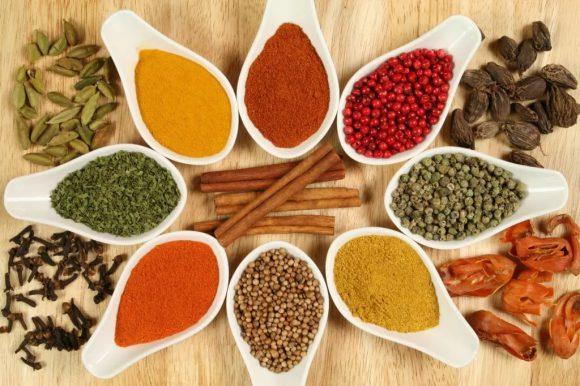 Антимикробные свойства вкусных приправ