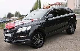 Свадебный джип Audi Q7 в аренду