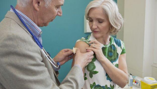 Надежную защиту от гриппа обеспечит пластырь с микроиглами