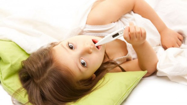 Детская простуда приводит к инсульту