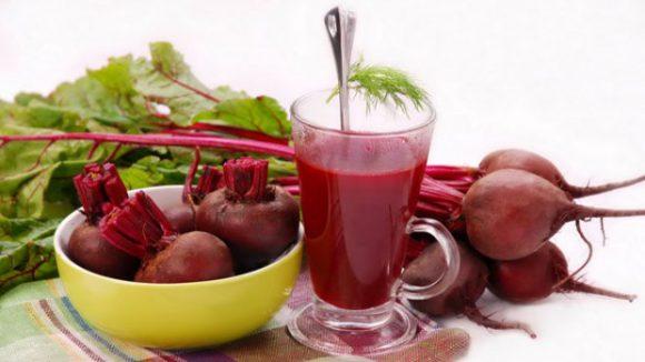 Свекольный сок укрепляет иммунитет и насыщает кровь кислородом