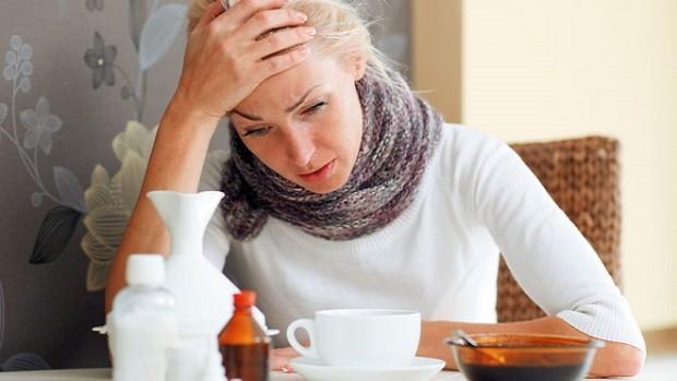 В Москве начало увеличиваться количество больных насморком и гриппом