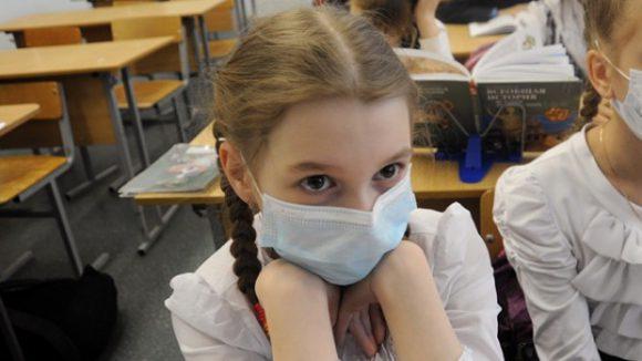Алтайский край по заболеваемости школьников ОРВИ приблизился к эпидемическому порогу
