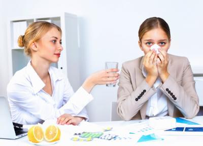 Как без вреда для здоровья перенести простуду без больничного