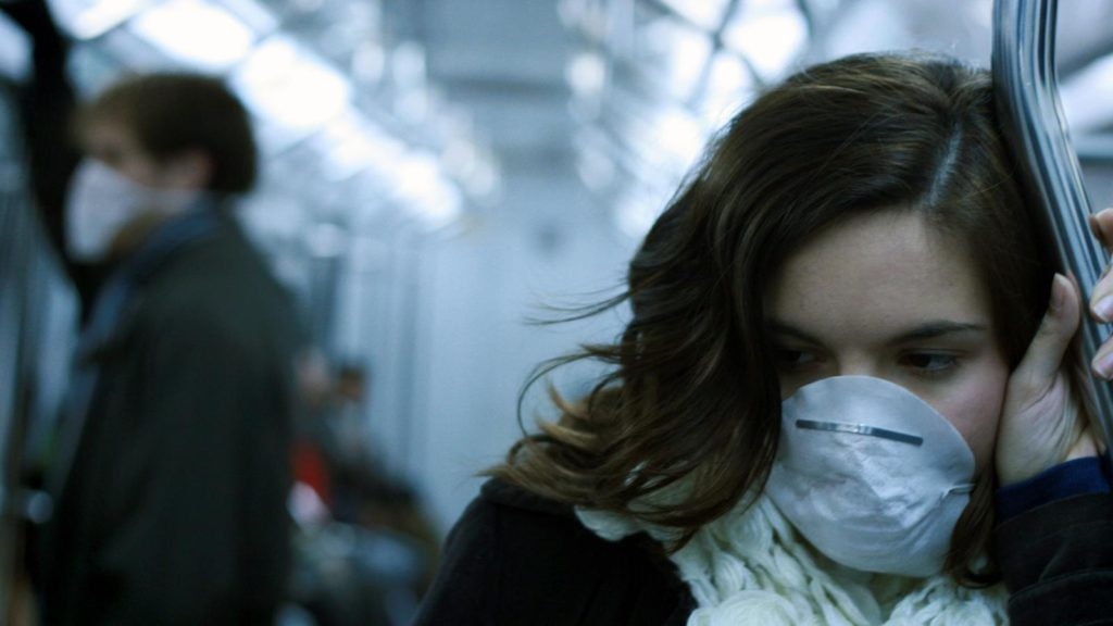 На улице заразиться гриппом невозможно