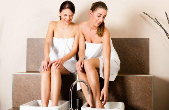 Ванны для ног при простуде: есть ли польза