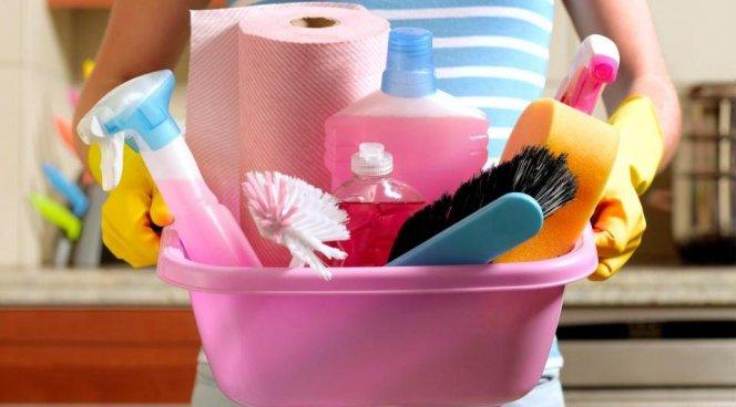 Бытовая химия для уборки дома убивает наши легкие