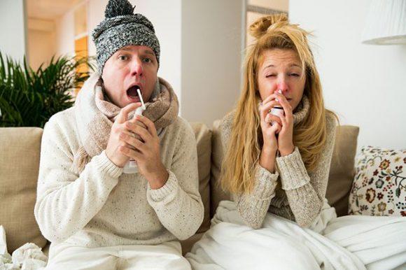 Россияне неправильно лечат простуду