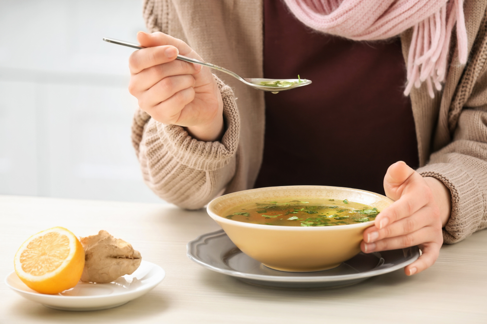 Как питаться при простуде?