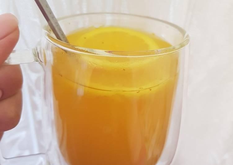 Мега полезный напиток для иммунитета