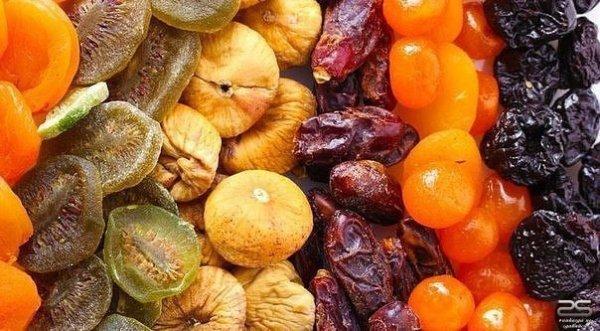 Сушеные фрукты вместо витаминов и таблеток!
