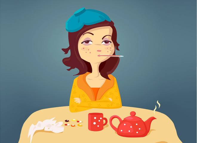 Чего не следует делать при гриппе