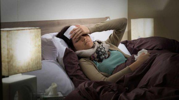 Пятна и давление в ушах скрывают грипп