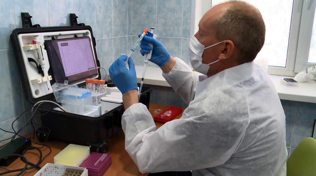 Российские ученые проверили новую систему диагностики коронавирусов