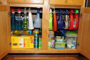 Бытовая химия в доме. 7 правил безопасного хранения