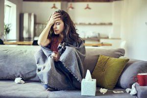 Головная боль при гриппе: как помочь без таблеток?