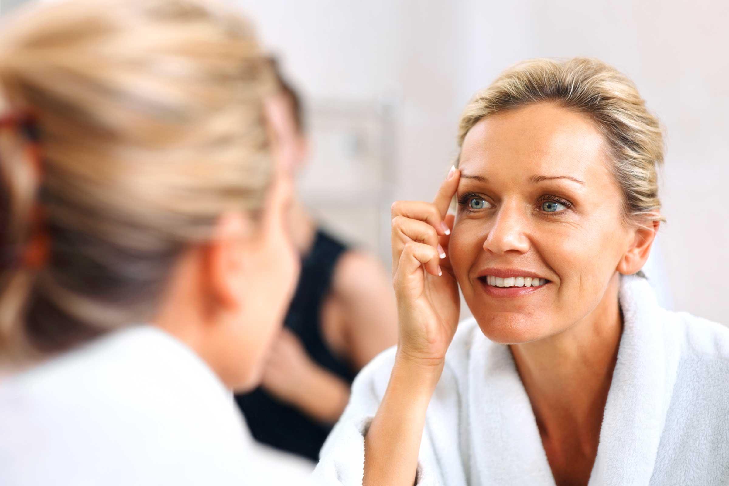 Как ухаживать за кожей лица в 40 лет?