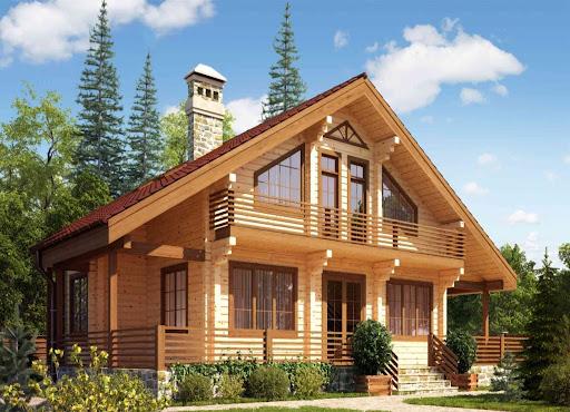 Строительство деревянных домов из клееного бруса и малых архитектурных форм.
