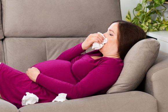 Простуда при беременности: 2-й триместр